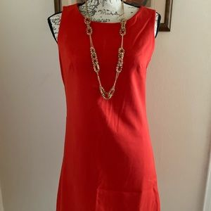 Bright Red GAP Cocktail Dress